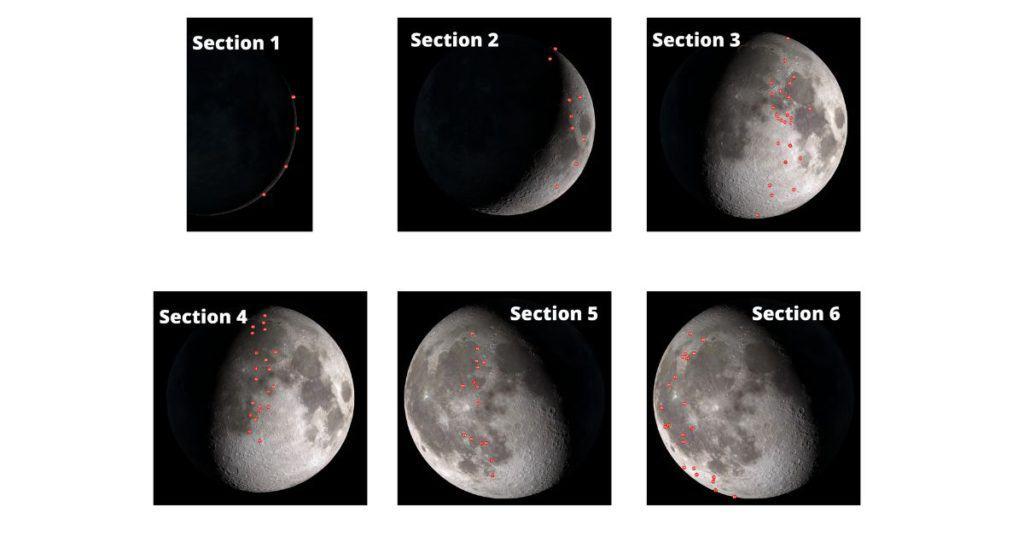Moon Locator Charts