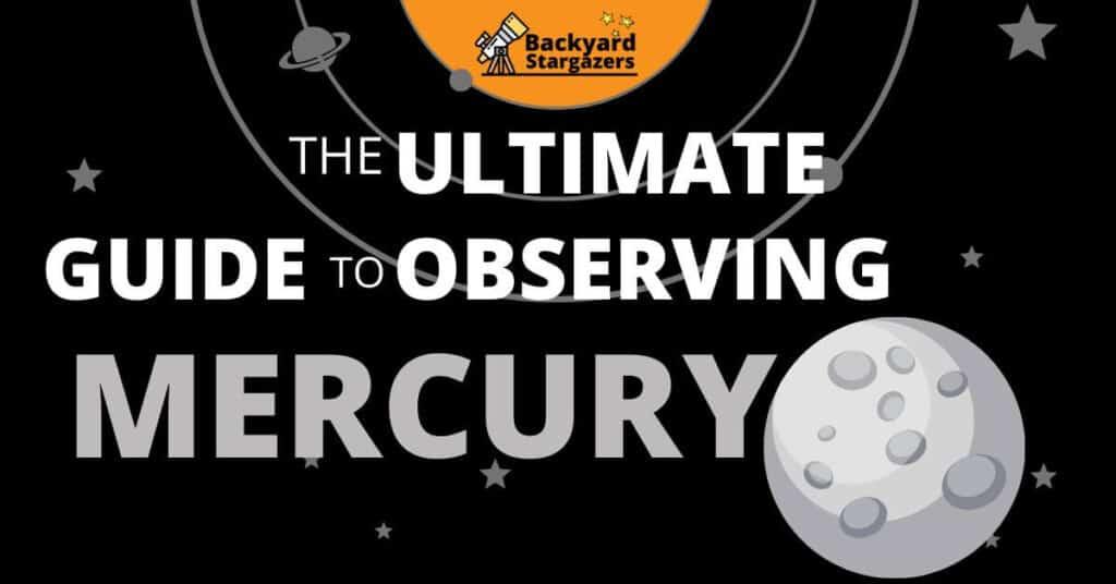 Mercury through the telescope Guide